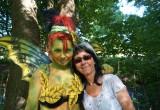 Uschi und Melinda von Chili-Air beim Naturgeisterfest