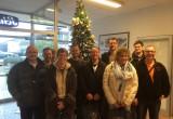 Chili-Air Studenten besuchen Farbhersteller Schmincke